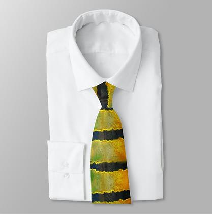 Peacock Bass Men's Work Tie