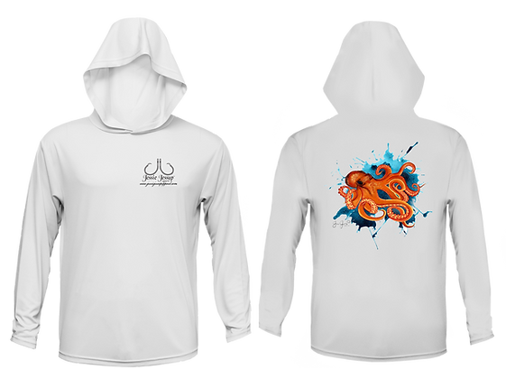 Youth Octopus Performance Hoodie