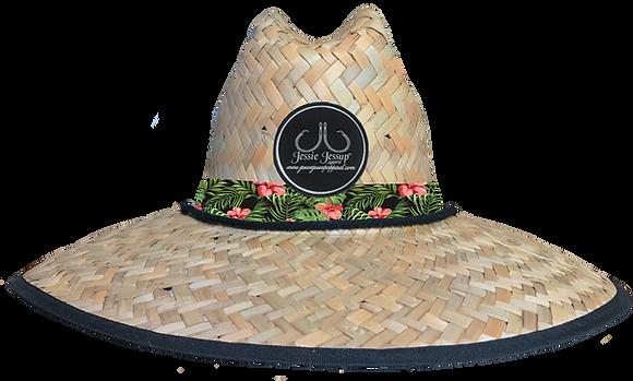 Maui Flowers Straw Hat