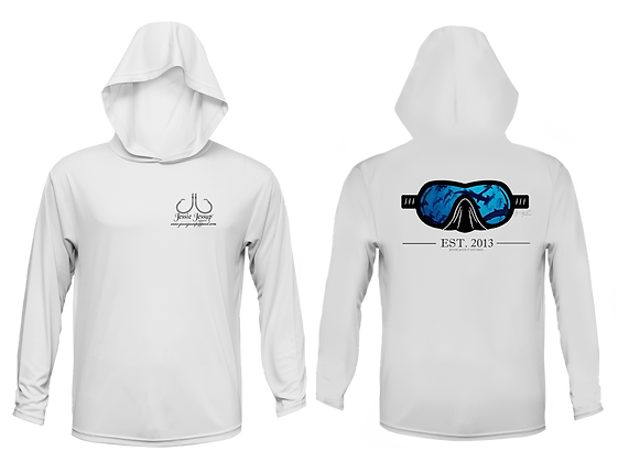 Youth Dive Mask Performance Hoodie