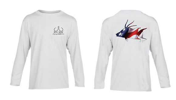 Youth USA Hogfish Performance LS/SS