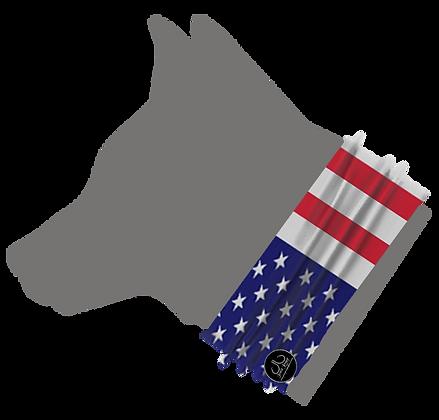 USA Flag Pet Neckerchief