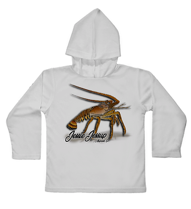 Lobster Crave Hooded Toddler LS