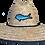 Thumbnail: Blue Mahi Patch Straw Hat