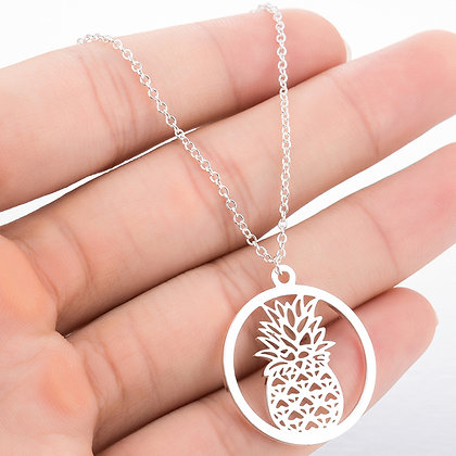 Pineapple Crest Necklace