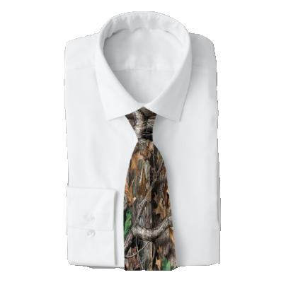 Camo Men's Work Tie