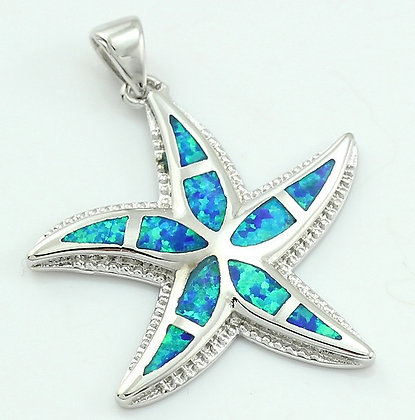 Thick Starfish Opal Necklace