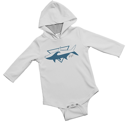 Tarpon Break Baby Onesie