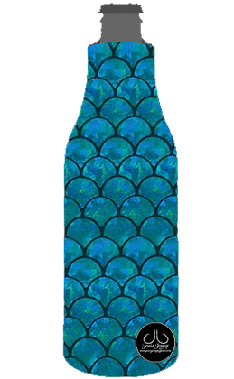 Mermaid Scales 12 oz. BOTTLE Coolie