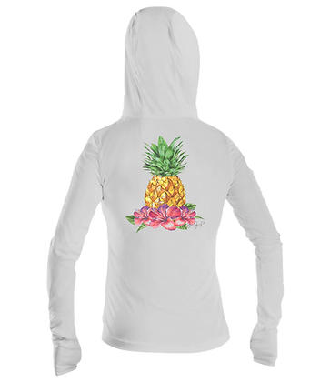 Ladies Pineapple Performance LS Hoodie
