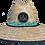 Thumbnail: Teal Mangrove Tarpon Straw Hat