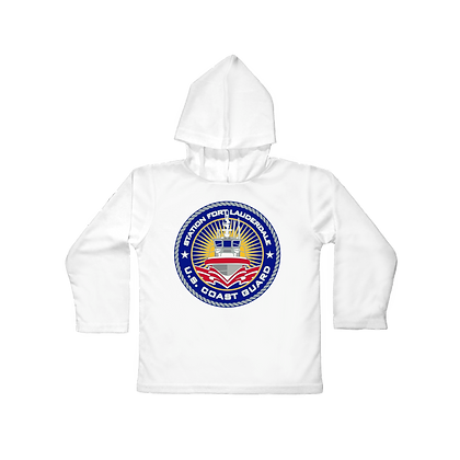 USCG Hooded Toddler LS