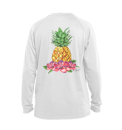 Youth Tropical Pineapple Performance LS
