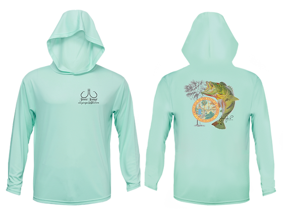 Youth Peacock Bass Performance Hoodie