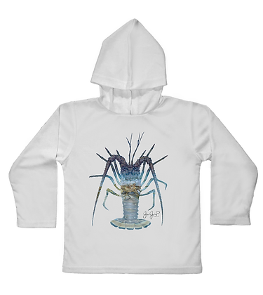Lobster March Toddler Hooded LS