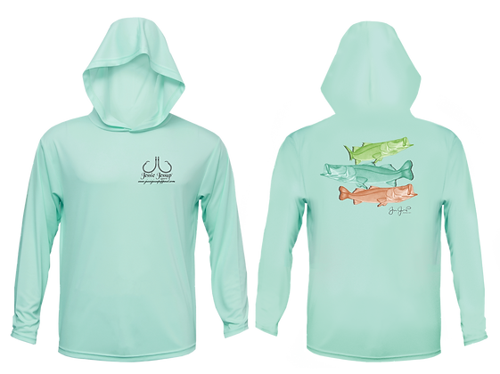 Youth Snook Trio Performance Hoodie