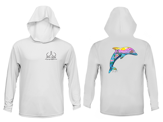 Youth Seascape Performance Hoodie