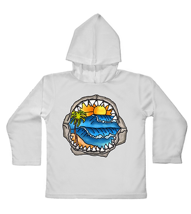 Jaws Hooded Toddler LS