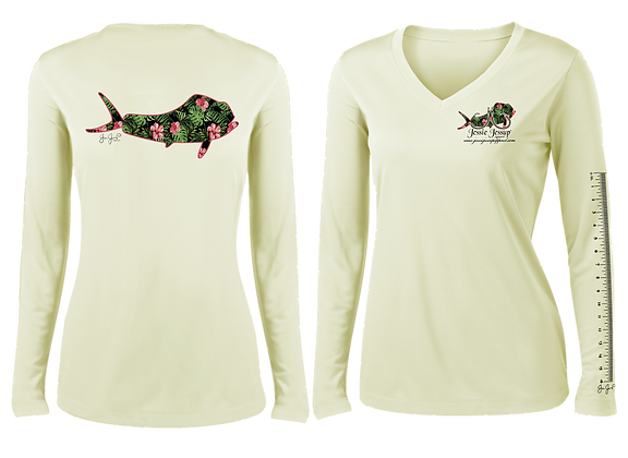 Ladies Maui Mahi Performance LS