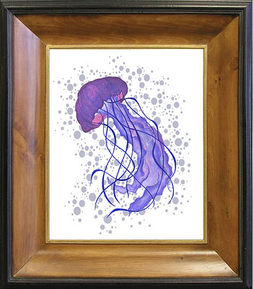 Jellyfish On Canvas