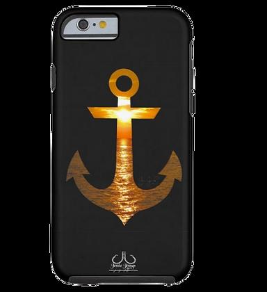 Sunset Anchor Tough Phone Case
