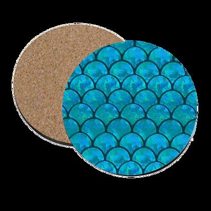Mermaid Scales Coaster