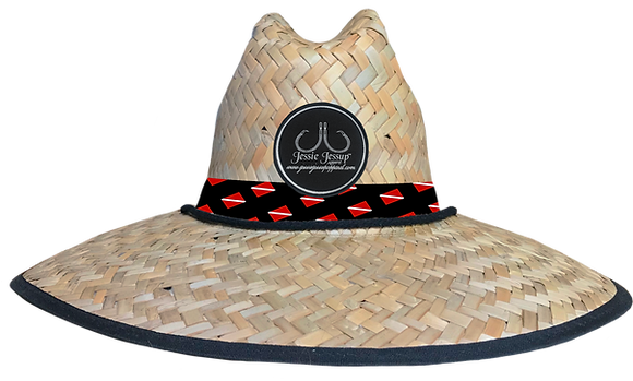 Diver Down Straw Hat