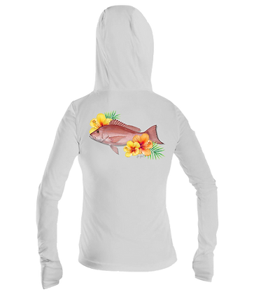 Ladies Red Snapper Performance LS Hoodie