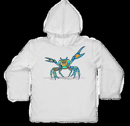 Land Crab Hooded Toddler LS