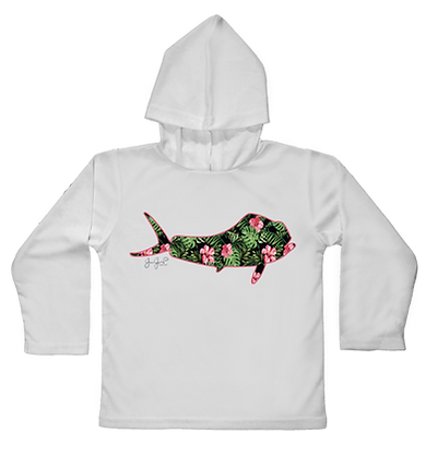 Maui Mahi Hooded Toddler LS