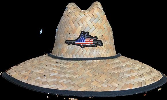 Hog Spear Patch Straw Hat