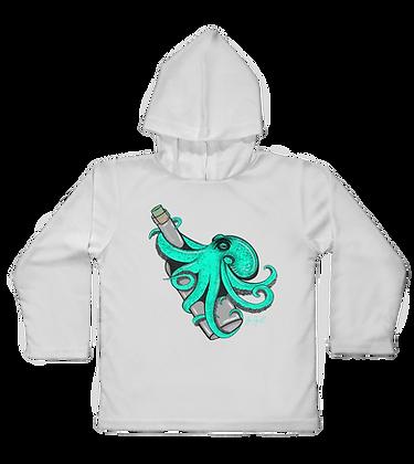 Teal Kraken Hooded Toddler LS