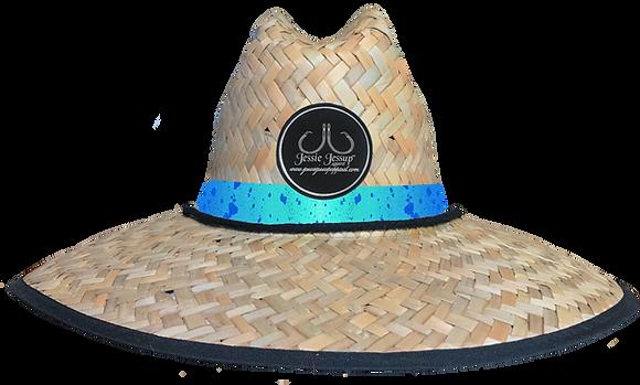 Blue Mahi Straw Hat