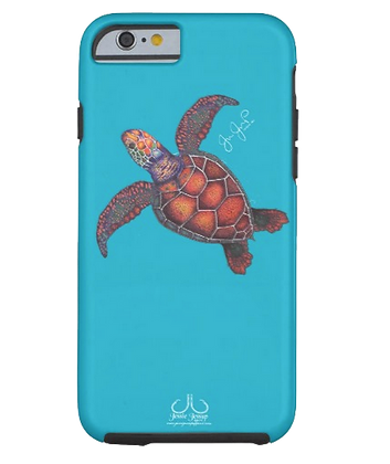 Sea Turtle Tough Phone Case