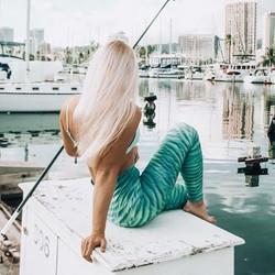 Coastal living in our water leggings is