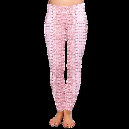 Pink Tarpon Scales WATER Leggings