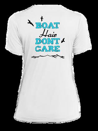 Ladies Boat Hair Performance SS