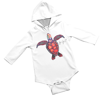 Sea Turtle Baby Onesie