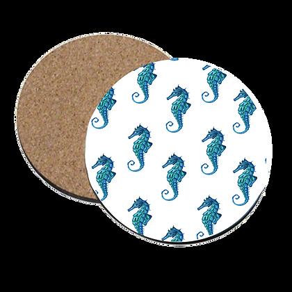 Lone Seahorse Coaster