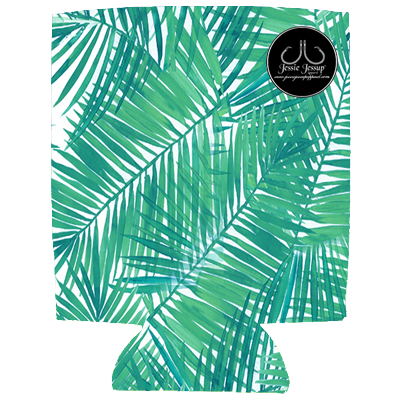 Palm Frond 12 oz. Can Coolie