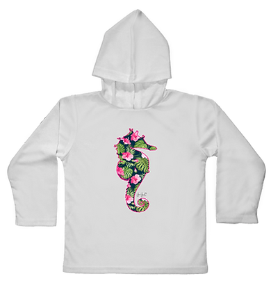 Sea Lilly Hooded Toddler LS