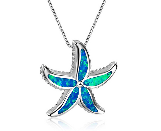 Coastal Starfish Necklace
