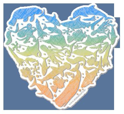 Sea Love Sticker
