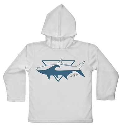 Tarpon Break Hooded Toddler LS