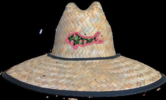 Mahi Mahi Patch Straw Hat