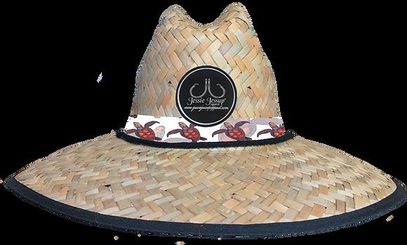 Sea Turtle Straw Hat