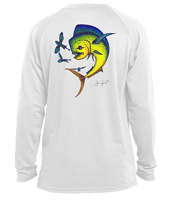 Youth Dotted Mahi Performance LS