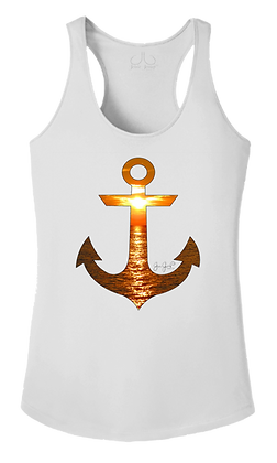 Ladies Sunset Anchor Performance Tank
