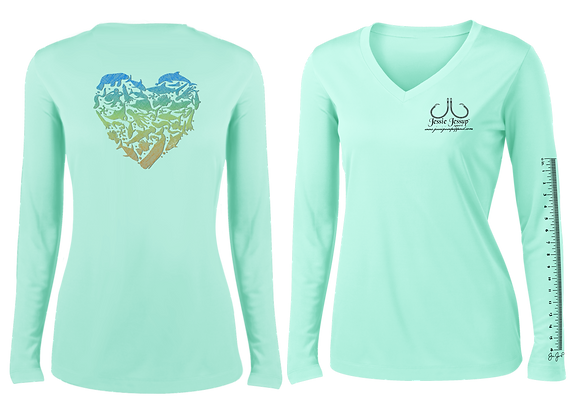 Ladies Sea Love Performance LS