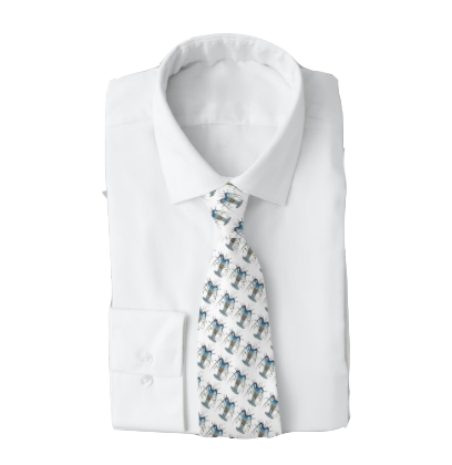 Lobster March Men's Work Tie